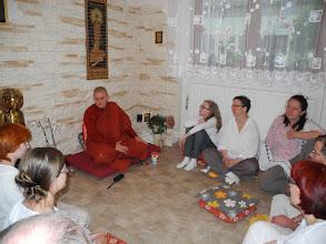 Photo: Dhamma přednes - Dhamma talk