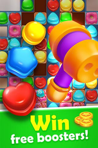 Sweet Candy Mania - Free Match 3 Puzzle Game 1.4.0 screenshots 5
