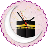 Qibla Map Finder, Prayer Times & Qibla Compass
