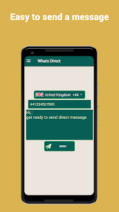 WhatsDirect – Direct Chat Without Saving Contact 5