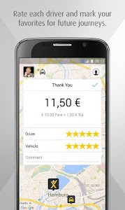 mytaxi – The Taxi App screenshot 3