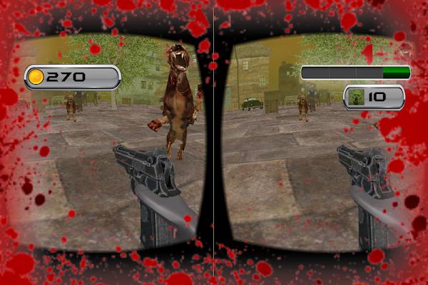Zombie Shoot Virtual Reality - screenshot