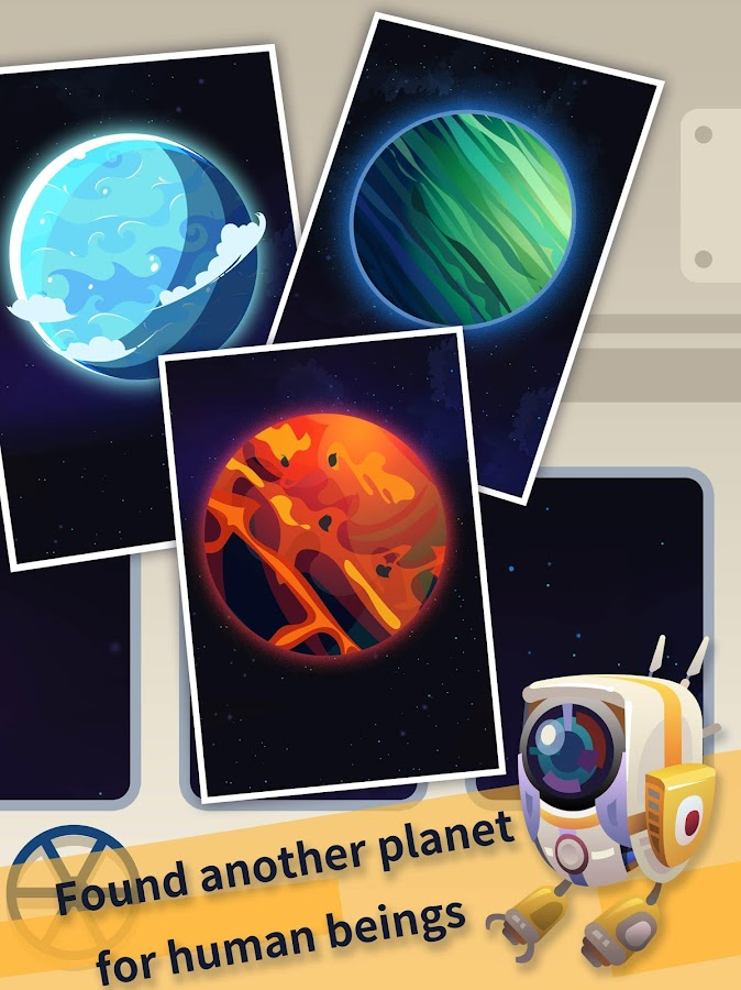Space Colonizers Idle Clicker Incremental- screenshot