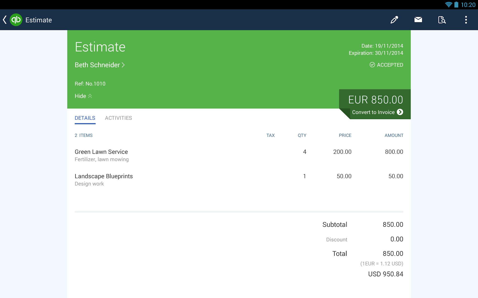 QuickBooks Accounting+Invoice screenshot #10