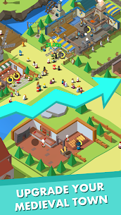Idle Medieval Town Mod Apk- Tycoon, Clicker (Unlimited Money) 3