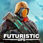 Cyberpunk Shooting: Hero Hunters Robots War Gun