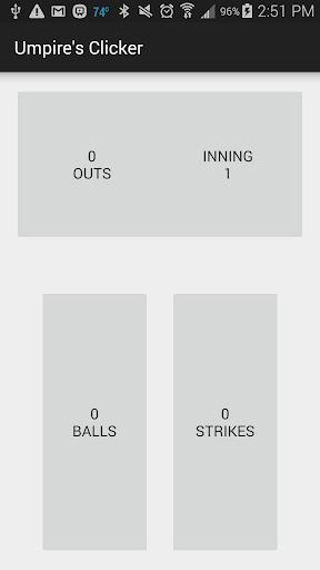 Umpire's Clicker