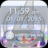 Slide to Unlock: Avengers Lock