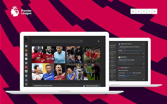 Wooow New Tab - Premier League