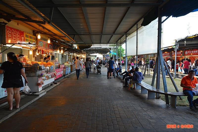 梧棲觀光漁港戶外攤販