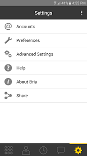 Bria Stretto™ for Android- screenshot thumbnail