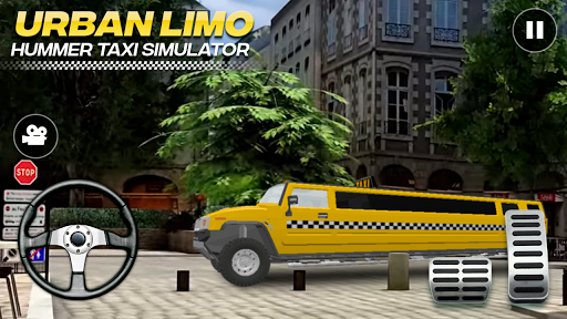 Urban Hummer Limo taxi simulator 6.0 screenshots 1