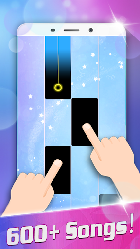 Magic White Piano: Music Tiles - screenshot