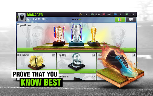 Top Eleven 2018 - Be a Football Manager  screenshots 13