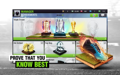 Top Eleven 2018 - Be a Football Manager- screenshot thumbnail
