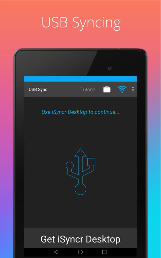 iSyncr: iTunes to Android- screenshot