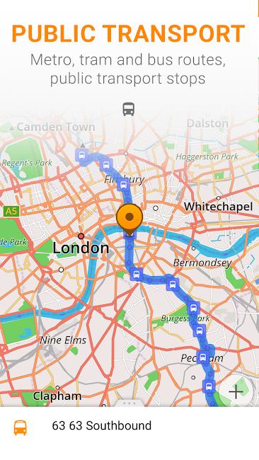 #7. Maps & GPS Navigation OsmAnd+ (Android)