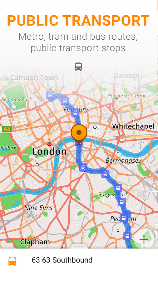 Maps & GPS Navigation OsmAnd+- screenshot