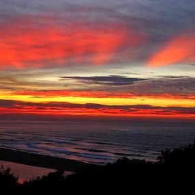 Good morning by Nico Ebersohn - Landscapes Sunsets & Sunrises ( sunrise, seascape, beach, water, sea,  )