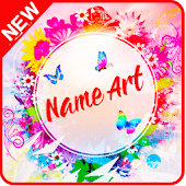 Name Art On Photo Editor App - Focus n Filter 2018