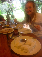 Photo: Morning after the wedding, I get all the food because I'm the only one not hungover. (Habarana)