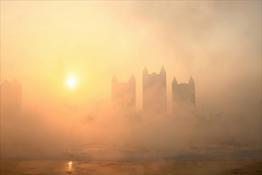 FILE PHOTO: Air pollution in China.