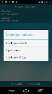 Easy Call Blocker screenshot 2