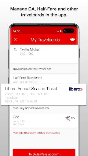 SBB Mobile screenshot 8