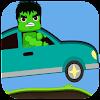 Hill  Lego Car Racing Hulk Game