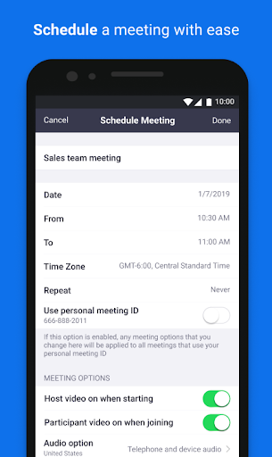 ZOOM Cloud Meetings 5