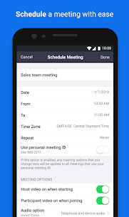ZOOM Cloud Meetings Apk – For Android 5