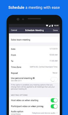 ZOOM Cloud Meetingsのおすすめ画像5