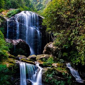 Darjeeling Rock Garden by Saptarshi Datta - Landscapes Waterscapes ( hill, mountain, waterfall, india, darjeeling )