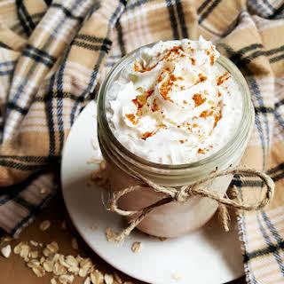 Cinnamon Bun Smoothie.