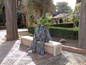 Photo: Angel travellers - Parco Colonna, Taormina