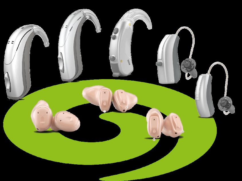 Aparelhos auditivos dinâmico