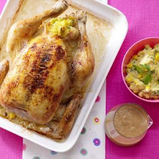 Polenta Stuffed Chicken