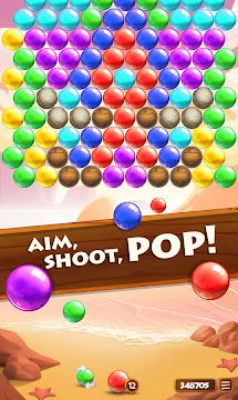 Paradise Pop Bubble Shooter - screenshot