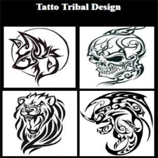 Tatto Tribal Design Ideas - náhled