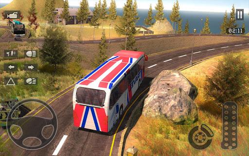 Heavy Mountain Bus Driving Games 2019 1.0 screenshots 1