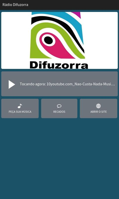 Rádio Difuzorra- screenshot