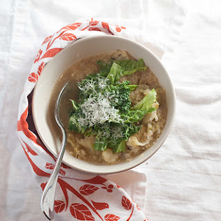 Savoy Cabbage and Parmesan Rind Soup