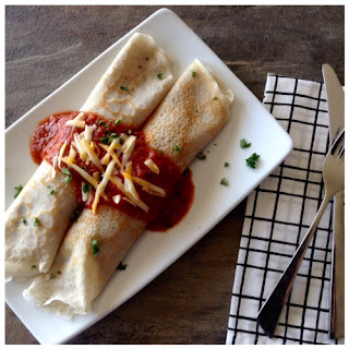 Gluten Free Spinach Cannelloni Crepes