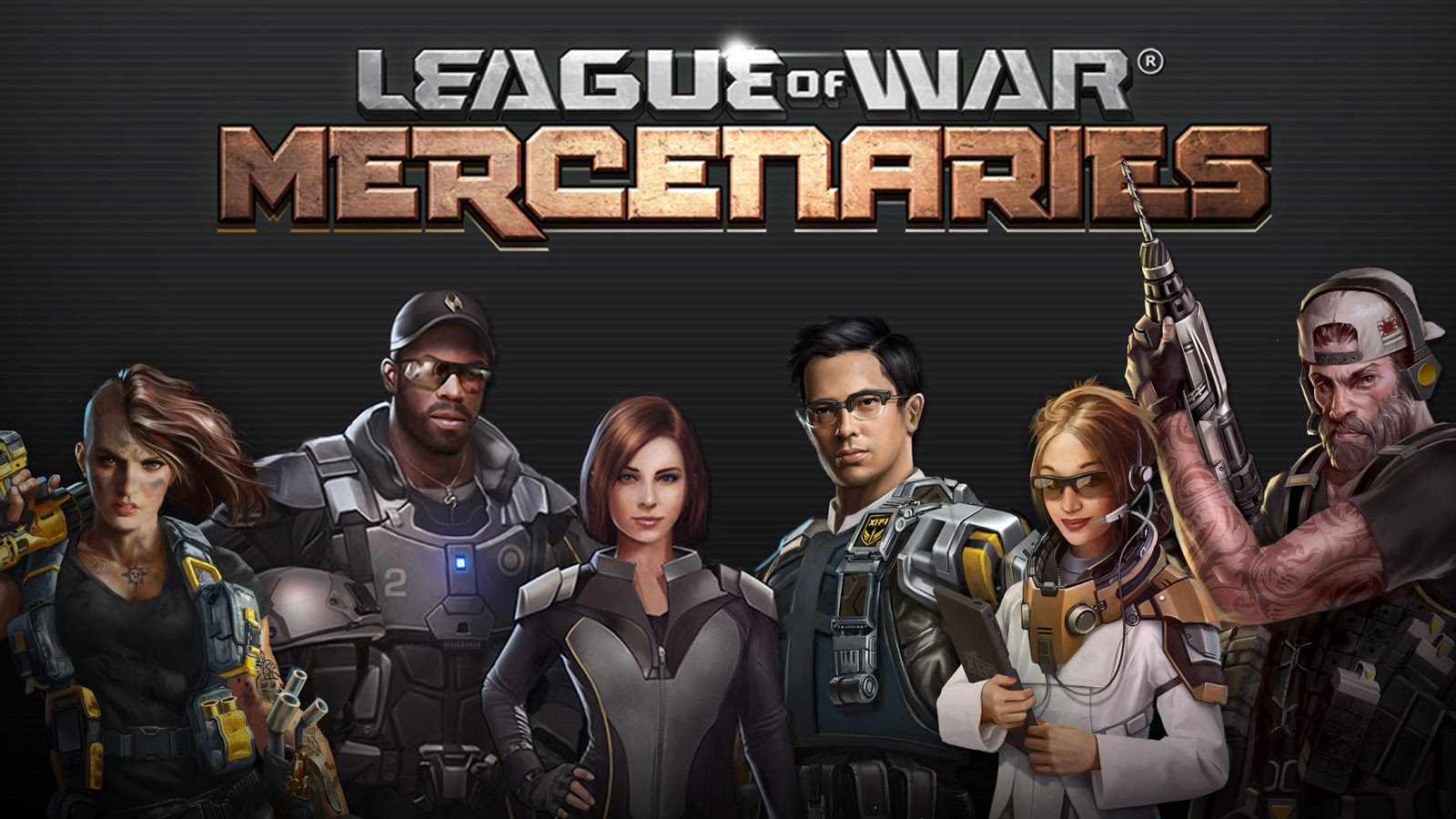 League of War: Mercenaries: captura de tela