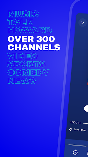 SiriusXM - Music, Comedy, Sports, News 5.5.1 screenshots 1