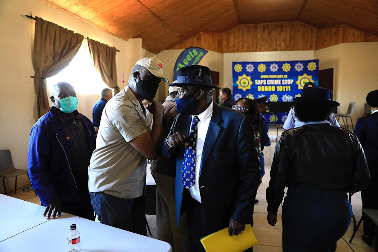 Bheki Cele meets farmers and community organisers after protests erupted over the murder of farmer Brendin Horner.