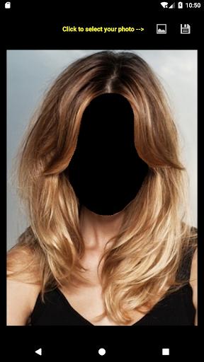 Women Hairstyle Face Changer 4.0 screenshots 2