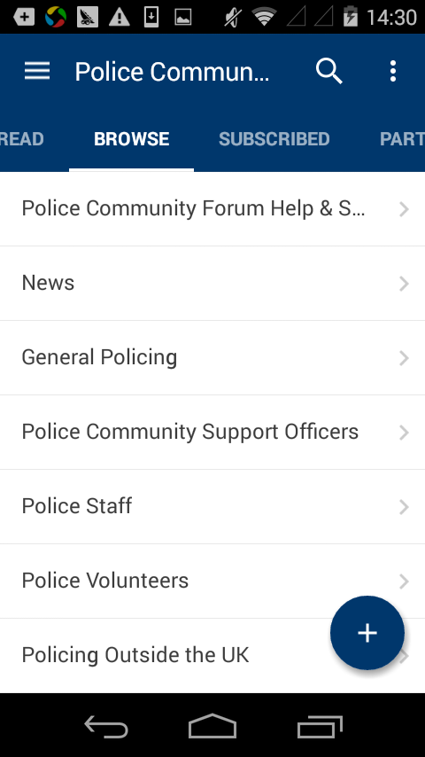 Police Community- screenshot