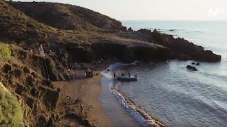 Plano de una de las escenas grabadas en Almería.