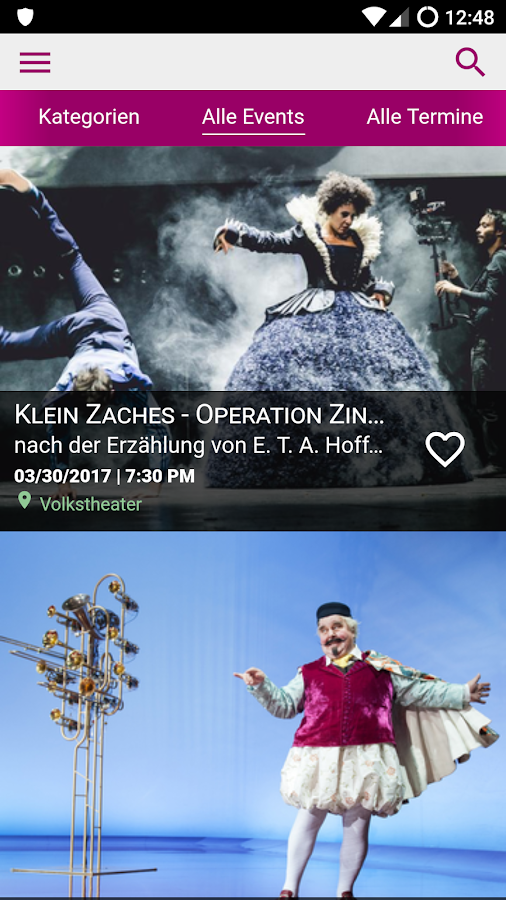Ticket Gretchen – Screenshot